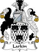 English Coat of Arms for Larkin