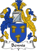 Irish Coat of Arms for Bennis
