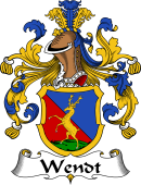 German Coat of Arms for Wendt