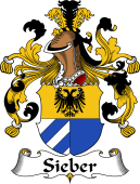 German Coat of Arms for Sieber