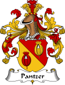 German Coat of Arms for Pantzer