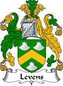 Irish Coat of Arms for Levens or Levinge