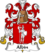 Coat of Arms from France for Albin