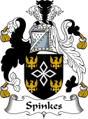 English Coat of Arms for Spinkes