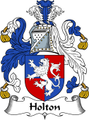 English Coat of Arms for Holton
