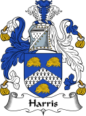 English Coat of Arms for Harris II