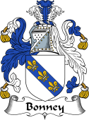 English Coat of Arms for Bonney