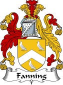 Irish Coat of Arms for Fanning
