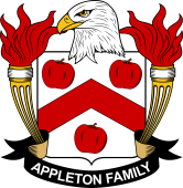 American Coat of Arms for Appleton