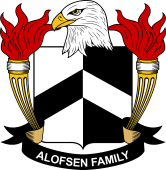 American Coat of Arms for Alofsen