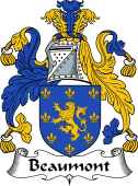 English Coat of Arms for Beaumont