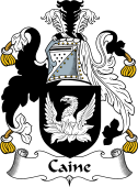 English Coat of Arms for Caine