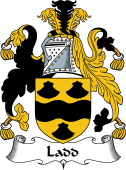 English Coat of Arms for Ladd