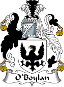 Irish Coat of Arms for O'Boylan