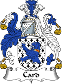 English Coat of Arms for Card