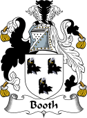 English Coat of Arms for Booth