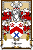 Scottish Coat of Arms Bookplate for Agnew