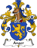 German Wappen Coat of Arms for Anger