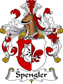 German Coat of Arms for Spengler