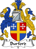 English Coat of Arms for Burford