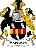 English Coat of Arms for Harward