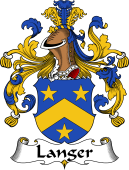 German Wappen Coat of Arms for Langer
