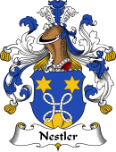 German Coat of Arms for Nestler