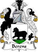English Coat of Arms for Berens