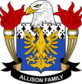 American Coat of Arms for Allison