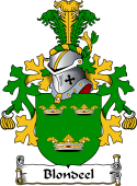 Dutch Coat of Arms for Blondeel