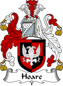 English Coat of Arms for Hoar (e)