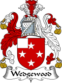 English Coat of Arms for Wedgewood