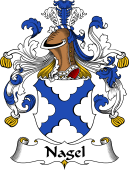 German Coat of Arms for Nagel
