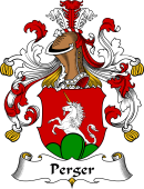 German Coat of Arms for Perger