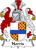 Irish Coat of Arms for Norreys or Norris