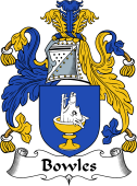 English Coat of Arms for Bowles