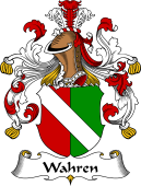 German Coat of Arms for Wahren