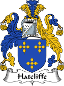 English Coat of Arms for Hatcliffe