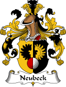 German Coat of Arms for Neubeck