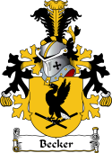 Dutch Coat of Arms for Becker
