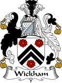 English Coat of Arms for Wickham