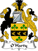 Irish Coat of Arms for O'Harty
