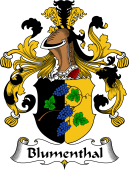 German Coat of Arms for Blumenthal