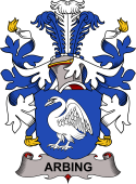 Danish Coat of Arms for Arbing