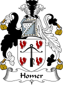 English Coat of Arms for Homer