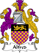 English Coat of Arms for Alfred