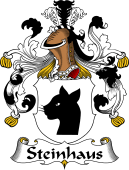 German Wappen Coat of Arms for Steinhaus