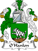 Irish Coat of Arms for O'Hanlon