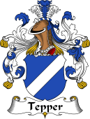 German Wappen Coat of Arms for Tepper