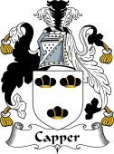 English Coat of Arms for Capper